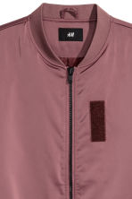 Bomber jacket - Dark old rose - Men | H&M 2