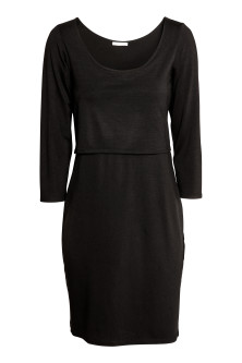 MAMA Jersey nursing dress