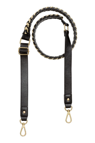 Shoulder strap - Black/Gold-coloured - Ladies | H&M CN