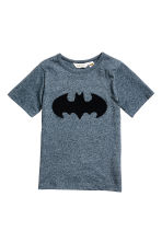 T-shirt with a motif - Blue/Batman - Kids | H&M 2