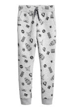 Top and trousers - Light grey/Rocket - Kids | H&M CN 3