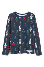 2件入平紋上衣 - Light grey/Ninjago -  | H&M 2