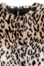 Cappotto in finta pelliccia - Beige/leopardato - DONNA | H&M IT 3