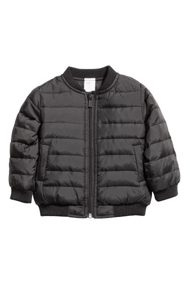 Down jacket - Black -  | H&M CN 1