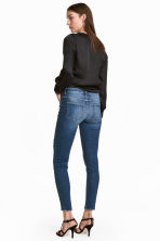 Girlfriend Jeans - 丹寧藍/刷破 - Ladies | H&M 6