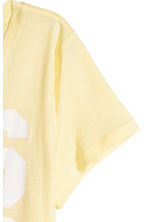 Jersey top - Light yellow/Los Angeles - Ladies | H&M 3