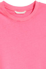 Cotton T-shirt - Pink - Ladies | H&M CA 3