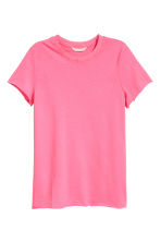 Cotton T-shirt - Pink - Ladies | H&M 2