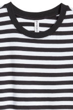 Cotton T-shirt - White/Striped - Ladies | H&M CN 2