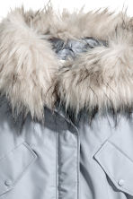 Padded parka - Light grey - Ladies | H&M CN 2