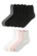 10-pack socks - Black/Multicolored - Kids | H&M CN 1