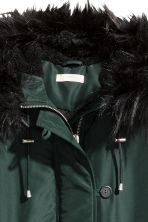 Padded parka - Dark green - Ladies | H&M 3