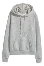 Hooded top - Grey marl - Ladies | H&M 2