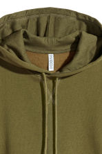 Hooded top - Khaki green - Ladies | H&M 3