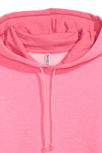 Hooded top - Neon pink - Ladies | H&M IE 3