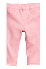 2-pack denim leggings - Dark denim blue/Light pink - Kids | H&M 3