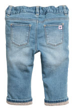 Lined Jeans - Blau -  | H&M CH 2