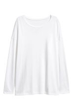Tricot top - Wit - DAMES | H&M NL 2