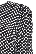 MAMA Patterned blouse - Black/Spotted - Ladies | H&M CN 3