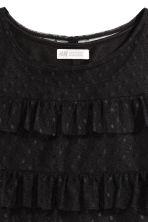 Top in tulle con volant - Nero - BAMBINO | H&M IT 3
