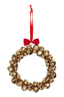 Large wreath with bells