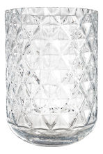 Large glass vase - Clear glass - Home All | H&M IE 2