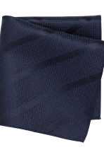 Tie and handkerchief - Dark blue - Men | H&M CN 3