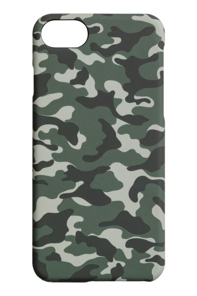 iPhone 6s/7 case - Khaki green/Patterned - Men | H&M