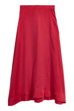 Silk-blend skirt - Dark red - Ladies | H&M 2