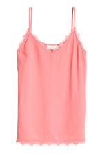 Top in tessuto increspato - Rosa - DONNA | H&M IT 2