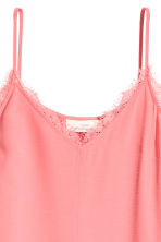 Top in tessuto increspato - Rosa - DONNA | H&M IT 3