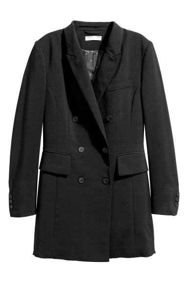Long jacket - Black - Ladies | H&M GB