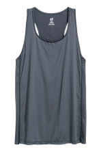 Sports vest top - Grey-blue - Ladies | H&M GB 2