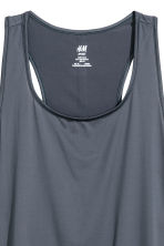 Sports vest top - Grey-blue - Ladies | H&M GB 3