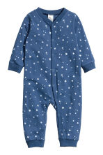 2-pack jersey pyjama suits - Dark blue -  | H&M 2