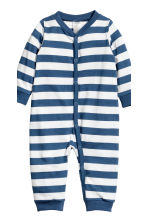 2-pack jersey pyjama suits - Dark blue -  | H&M 3