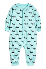 2-pack jersey pyjama suits - Grey/White striped - Kids | H&M 2
