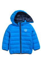 Lightweight padded jacket - Blue - Kids | H&M CN 2
