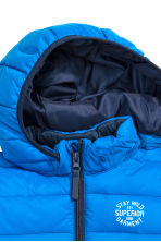 Lightweight padded jacket - Blue - Kids | H&M CN 3