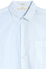 Cotton shirt Regular fit - Light blue - Men | H&M IE 3