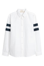 Cotton shirt Regular fit - White - Men | H&M CN 2