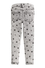 Treggings - Grey/Stars - Kids | H&M CN 3