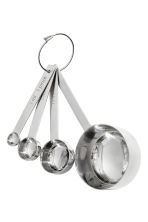 4-piece Metal Measuring Set - Silver-colored - Home All | H&M CA 2