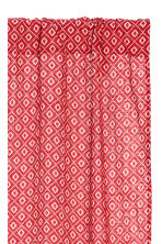 2-pack curtain lengths - Red/Patterned - Home All | H&M GB 2