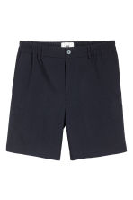 Wool shorts - Dark blue - Men | H&M IE 2