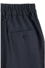 Wool shorts - Dark blue - Men | H&M IE 3