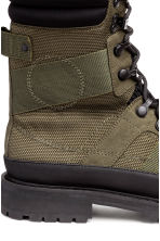 Nylon boots - Khaki green - Men | H&M 4