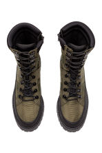 Nylon boots - Khaki green - Men | H&M 2
