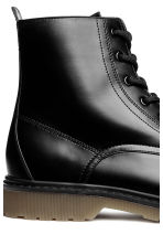 Chunky-soled boots - Black - Men | H&M CN 4