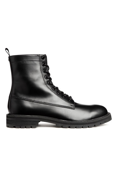 Chunky-soled boots - Black - Men | H&M GB 1